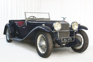 Picture of 1932 Speed 20 SA 4 Seater Tourer by Vanden Plas For Sale