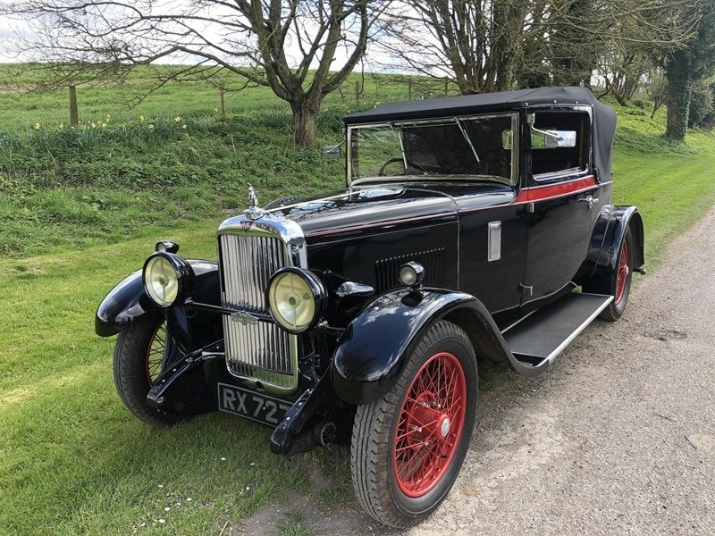 1930 Silver Eagle Clubmans DHC (cross & ellis) For Sale (picture 3 of 9)