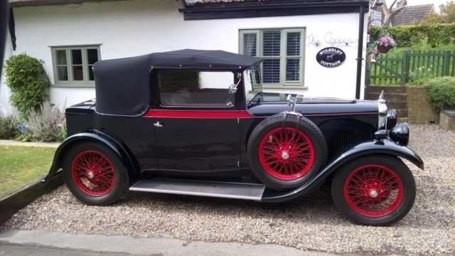 1930 Silver Eagle Clubmans DHC (cross & ellis) For Sale (picture 7 of 9)