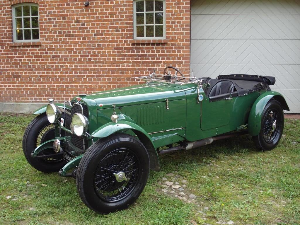1931 Alvis Slilver Eagle - Sporty tourer with a lot of power For Sale (picture 2 of 10)