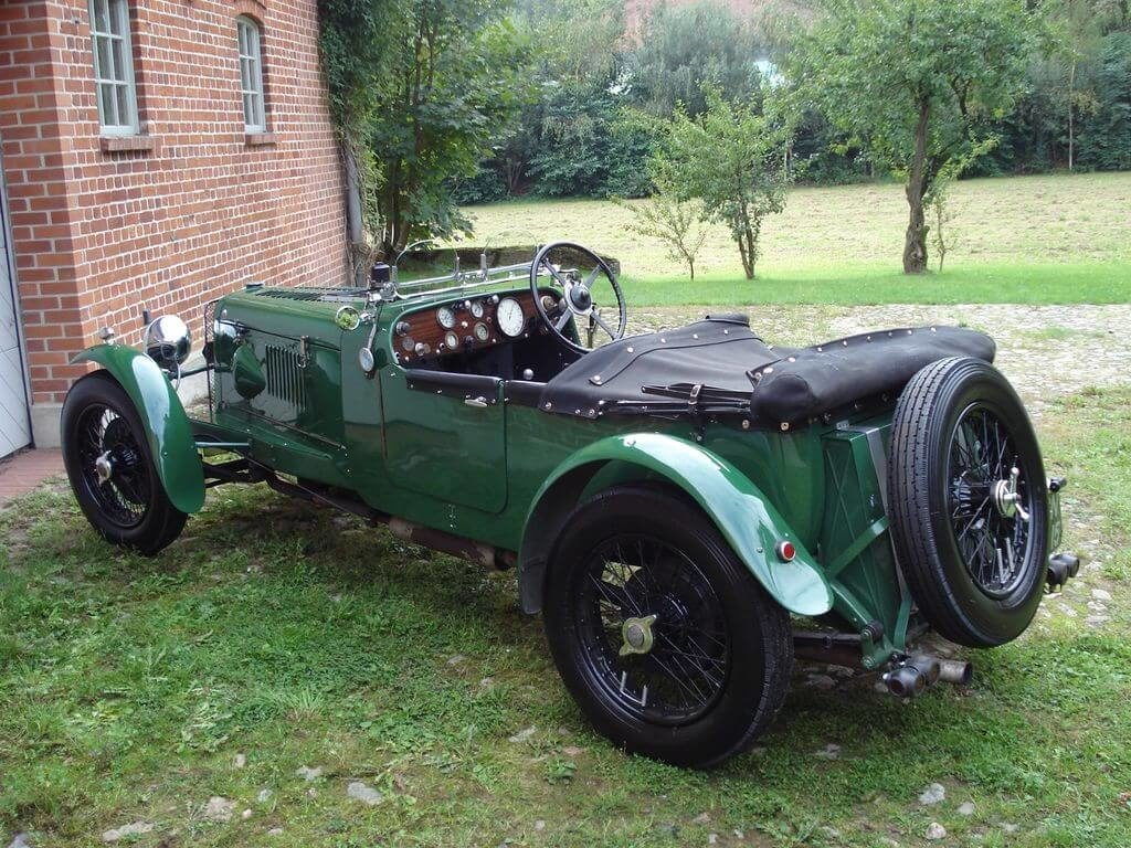 1931 Alvis Slilver Eagle - Sporty tourer with a lot of power For Sale (picture 4 of 10)
