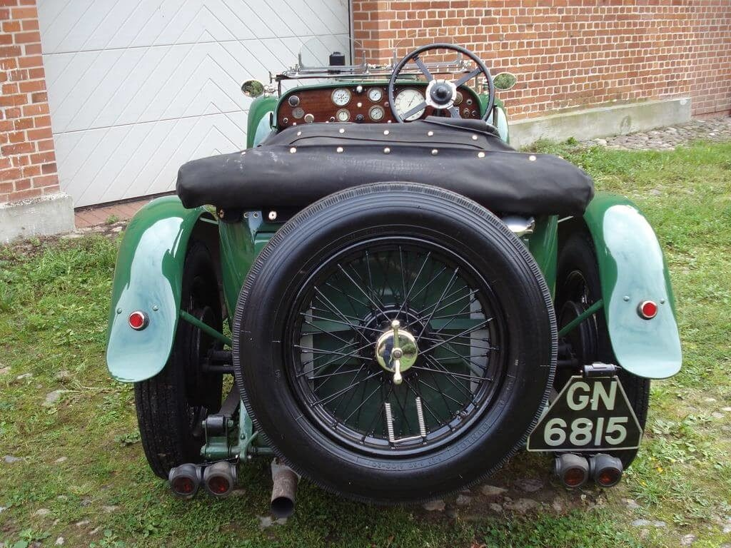 1931 Alvis Slilver Eagle - Sporty tourer with a lot of power For Sale (picture 5 of 10)