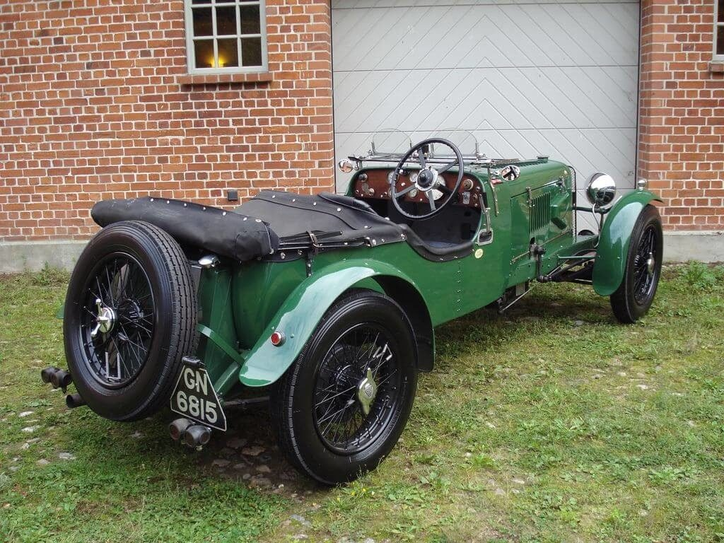 1931 Alvis Slilver Eagle - Sporty tourer with a lot of power For Sale (picture 6 of 10)