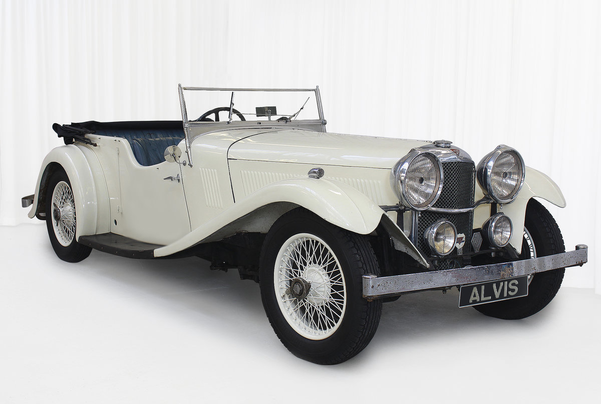 1934 SPEED 20 SB FOUR SEATER TOURER By VANDEN PLAS For Sale (picture 1 of 11)