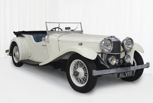 Picture of 1934 SPEED 20 SB FOUR SEATER TOURER By VANDEN PLAS For Sale