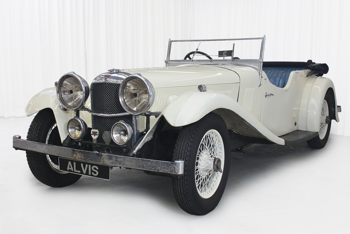 1934 SPEED 20 SB FOUR SEATER TOURER By VANDEN PLAS For Sale (picture 3 of 11)