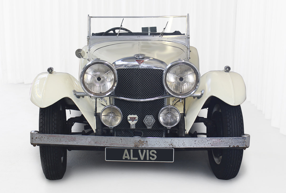 1934 SPEED 20 SB FOUR SEATER TOURER By VANDEN PLAS For Sale (picture 4 of 11)