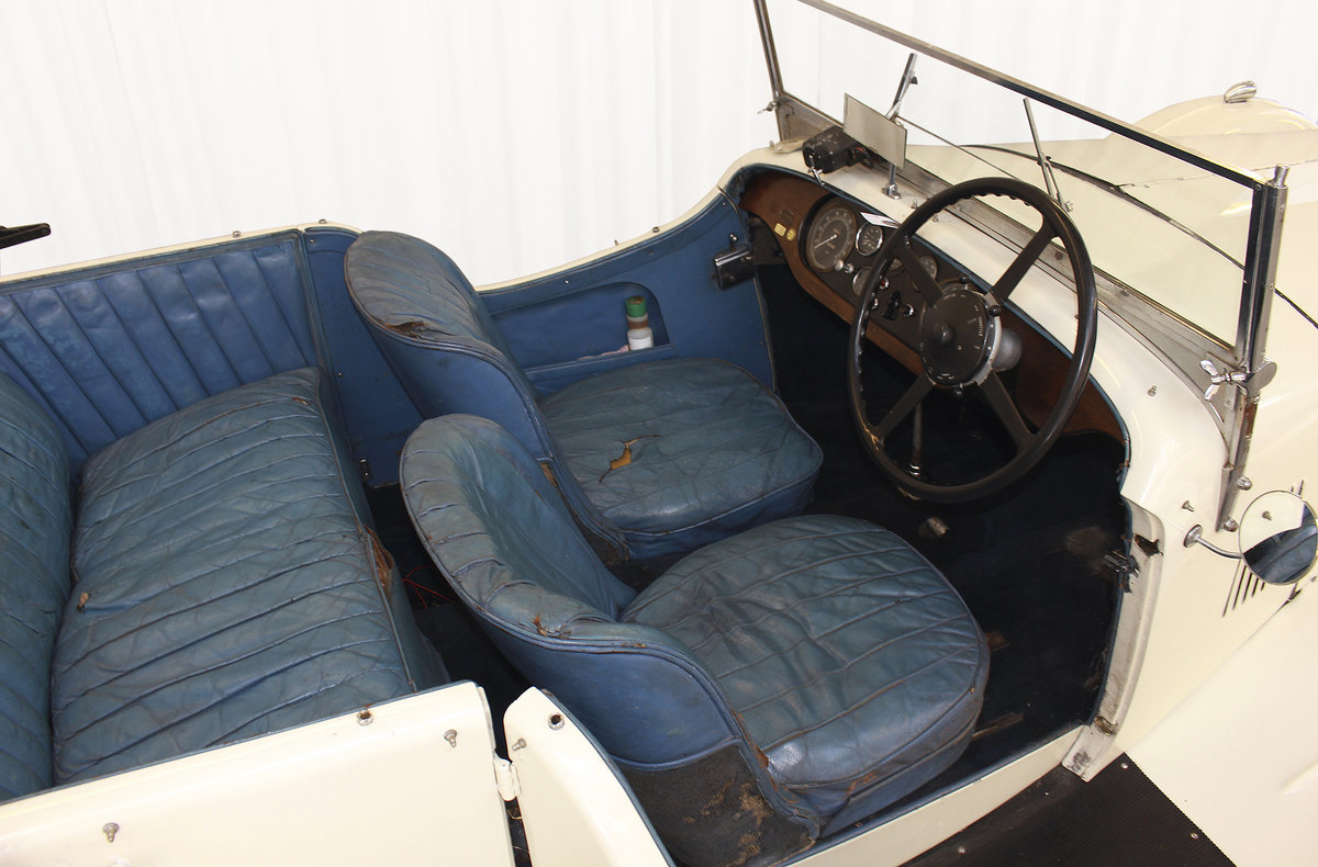 1934 SPEED 20 SB FOUR SEATER TOURER By VANDEN PLAS For Sale (picture 9 of 11)