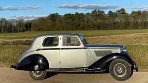 1936 Alvis Silver Crest 20/92