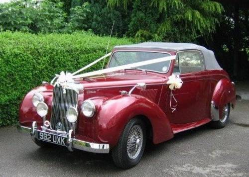 1954 Alvis Grey Lady Drop Head Available For Hire (picture 1 of 6)