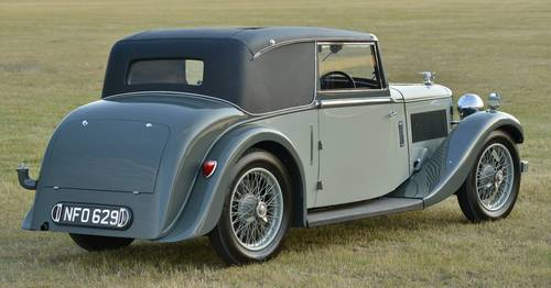 1935 Alvis Silver Eagle 2 door coupé For Sale (picture 2 of 6)