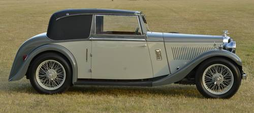 1935 Alvis Silver Eagle 2 door coupé For Sale (picture 3 of 6)