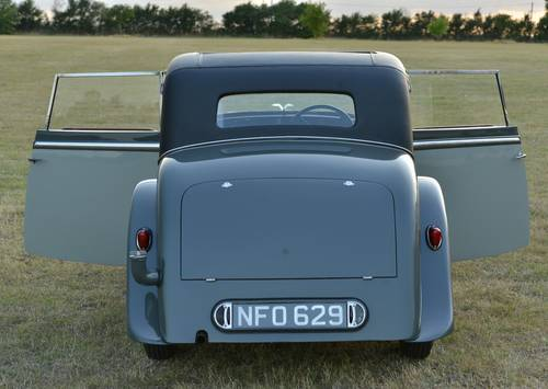 1935 Alvis Silver Eagle 2 door coupé For Sale (picture 4 of 6)