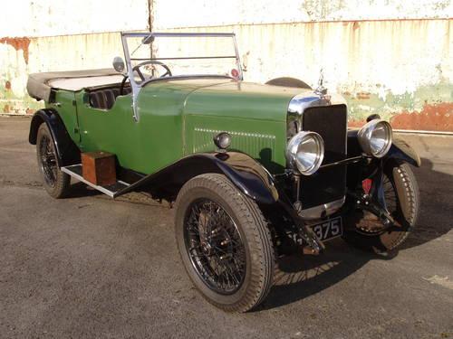 1931 Alvis 12/50 TJ 4-seat tourer For Sale (picture 1 of 6)