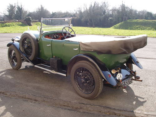 1931 Alvis 12/50 TJ 4-seat tourer For Sale (picture 2 of 6)