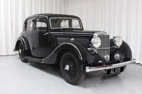 1939 12/70 Saloon by Mulliner SOLD (picture 1 of 6)