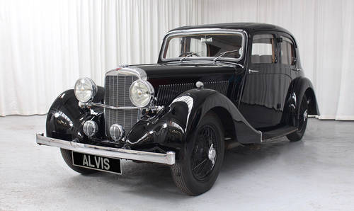 1939 12/70 Saloon by Mulliner SOLD (picture 2 of 6)
