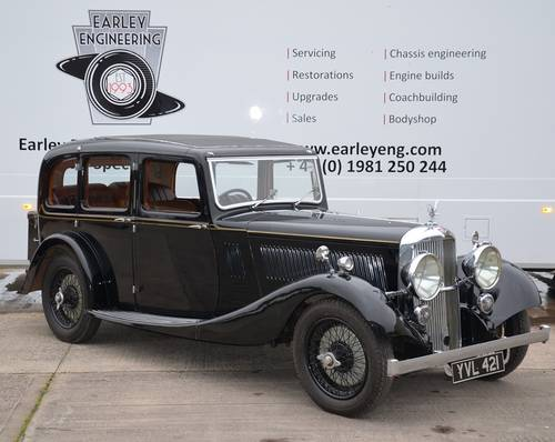 1936 Alvis Crested Eagle Saloon For Sale (picture 1 of 6)