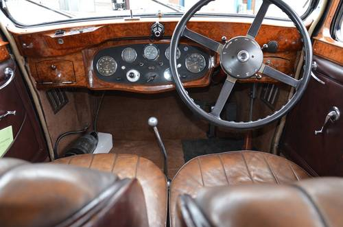1936 Alvis Crested Eagle Saloon For Sale (picture 3 of 6)
