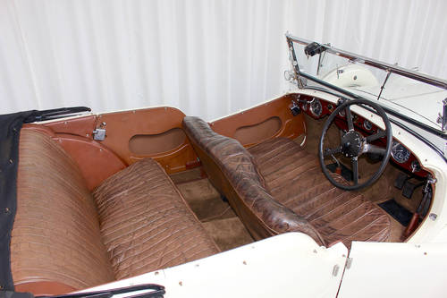 1936 Speed 25 Tourer Coachwork by Cross & Ellis For Sale (picture 5 of 6)
