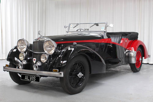 1939 4.3 Litre Vanden Plas Tourer by Rod Jolley SOLD (picture 1 of 6)