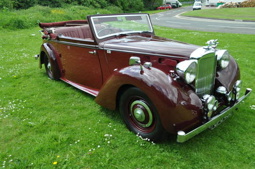 1949 Alvis TA14 Tickford DHC SOLD (picture 1 of 6)