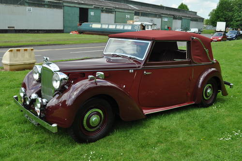 1949 Alvis TA14 Tickford DHC SOLD (picture 5 of 6)