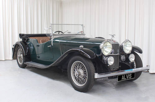 1934 Alvis Speed 20 tourer  by Cross & Ellis For Sale (picture 1 of 6)