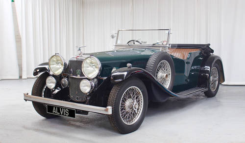 1934 Alvis Speed 20 tourer  by Cross & Ellis For Sale (picture 2 of 6)