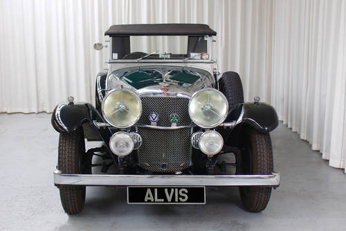 1934 Alvis Speed 20 tourer  by Cross & Ellis For Sale (picture 3 of 6)