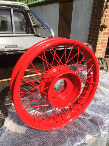 1929 Vintage Alvis Wheel Restoration - Tudor Wheels Ltd  (picture 2 of 3)