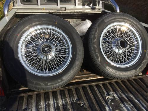1964 Vintage Alvis Wheel Restoration - Tudor Wheels Ltd  (picture 1 of 2)