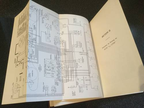 1950 Alvis 4.3 litre original instruction book For Sale (picture 3 of 6)