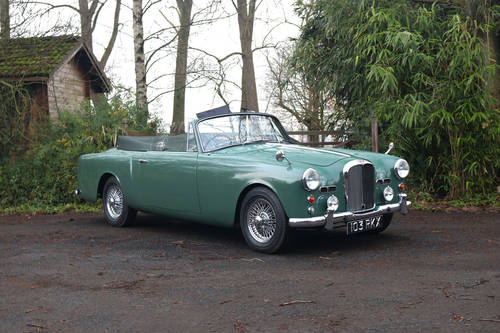 1961 Restored Alvis TD21 Series I DHC SOLD (picture 1 of 6)