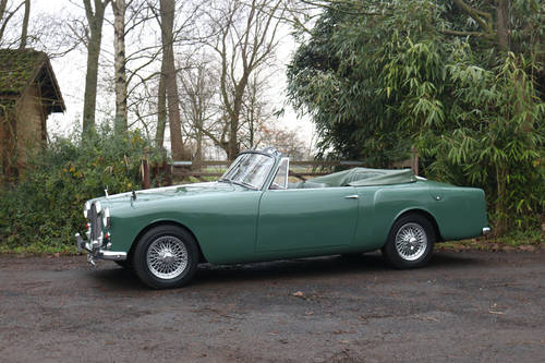 1961 Restored Alvis TD21 Series I DHC SOLD (picture 2 of 6)
