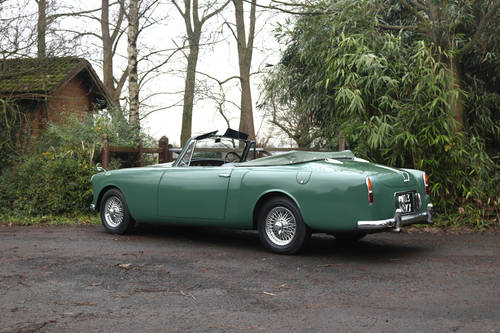 1961 Restored Alvis TD21 Series I DHC SOLD (picture 3 of 6)