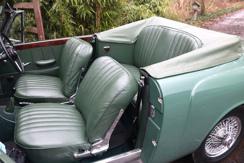 1961 Restored Alvis TD21 Series I DHC SOLD (picture 5 of 6)