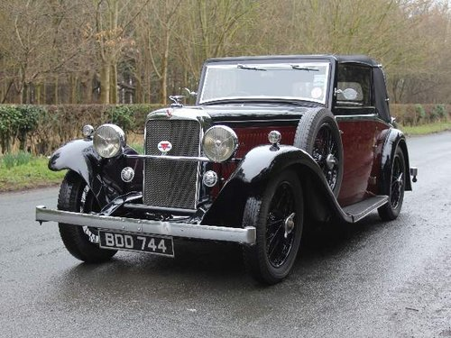 1936 Alvis Firebird DHC SOLD (picture 2 of 6)