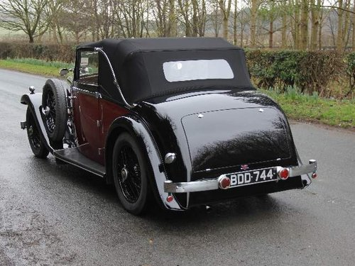 1936 Alvis Firebird DHC SOLD (picture 3 of 6)