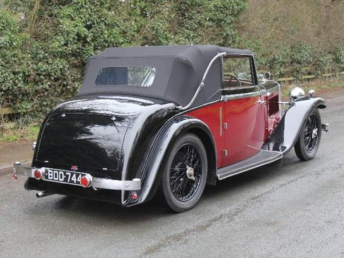 1936 Alvis Firebird DHC SOLD (picture 4 of 6)