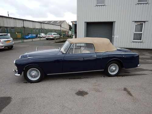 1959 ALVIS TD21 Drophead Coupe Automatic  SOLD (picture 1 of 6)
