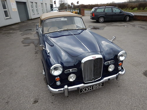 1959 ALVIS TD21 Drophead Coupe Automatic  SOLD (picture 2 of 6)