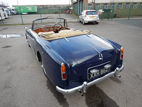 1959 ALVIS TD21 Drophead Coupe Automatic  SOLD (picture 4 of 6)