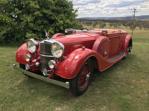 1937 Alvis 4.3 ONE OFF VANDEN PLAS COACHWORK For Sale (picture 1 of 6)