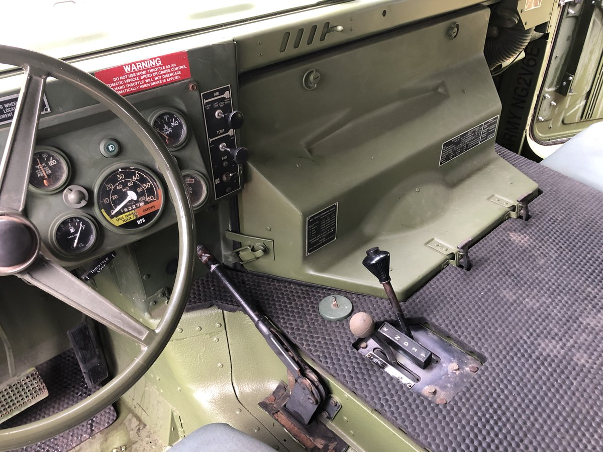 1987 Ex-Military HUMVEE For Sale (picture 6 of 6)