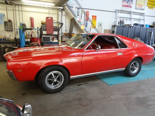 1969 Perfect AMX 390 Real muscle car  For Sale (picture 1 of 6)