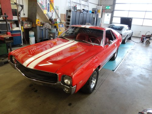 1969 Perfect AMX 390 Real muscle car  For Sale (picture 3 of 6)
