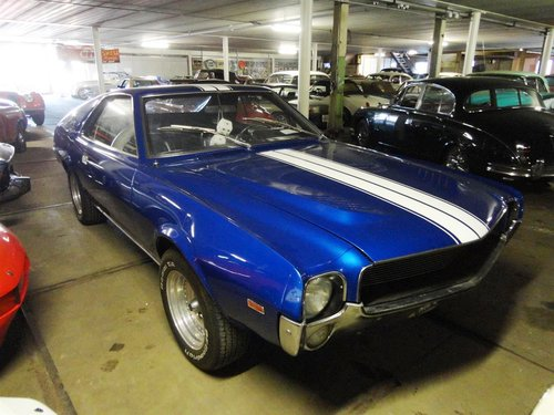 1969 Perfect AMX 390 Real muscle car  For Sale (picture 6 of 6)