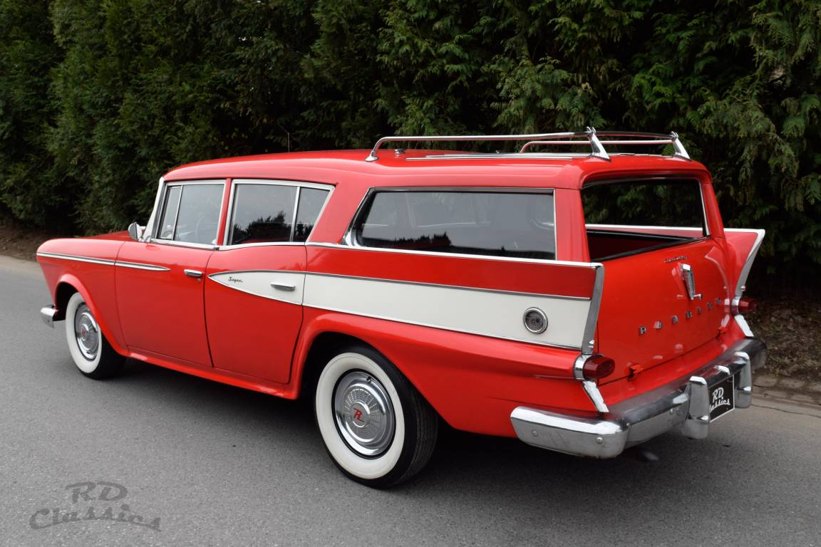 1959 AMC Rambler Super Custom Country Wagon For Sale (picture 1 of 6)