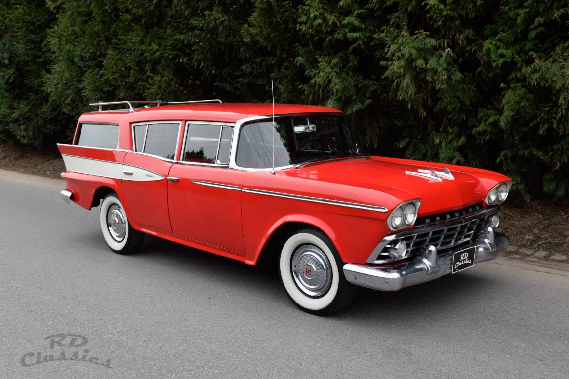 1959 AMC Rambler Super Custom Country Wagon For Sale (picture 2 of 6)